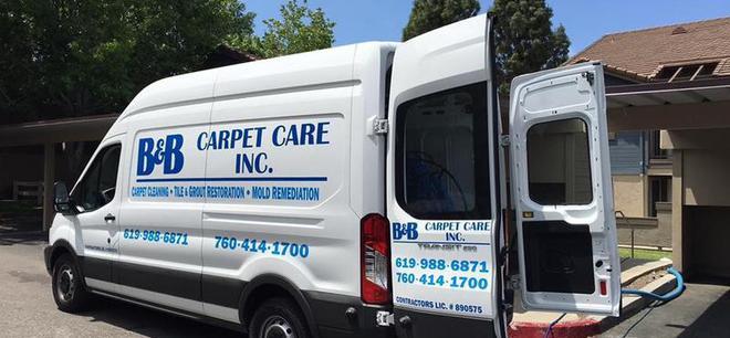 B and B Carpet Care San Diego CA